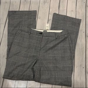 NWT Talbots Raleigh Glen Plaid Pants 10
